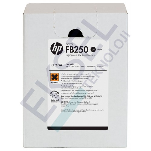 HP FB250 3-liter Black Scitex Ink