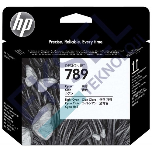 HP 789 Cyan/Light Cyan Designjet Printhead