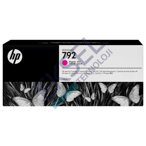 HP 792 775-ML MAGENTA LATEX INK CARTRIDGE