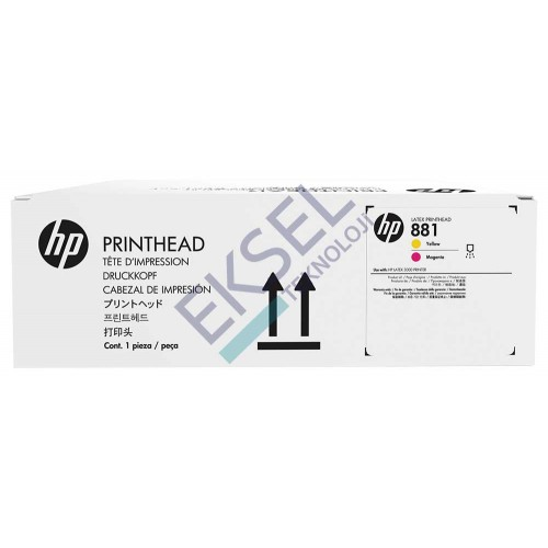HP 881 Yellow and Magenta Printhead