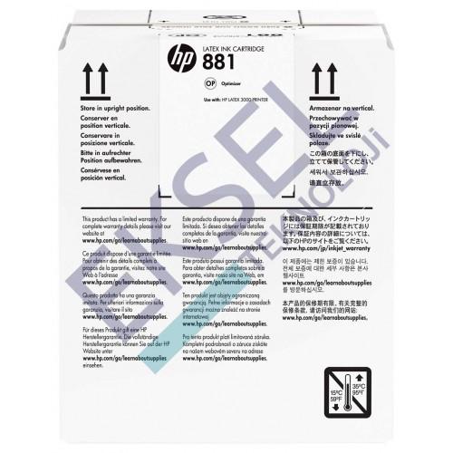 HP 881 5L Latex Optimizer Ink Cartridge