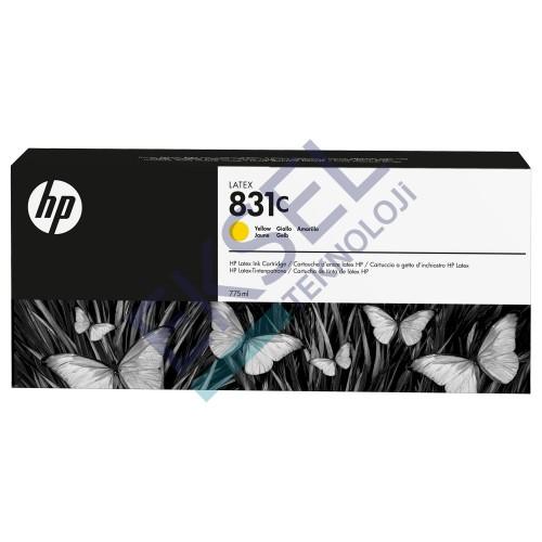 HP 831C 775ml Yellow Latex Ink Cartridge