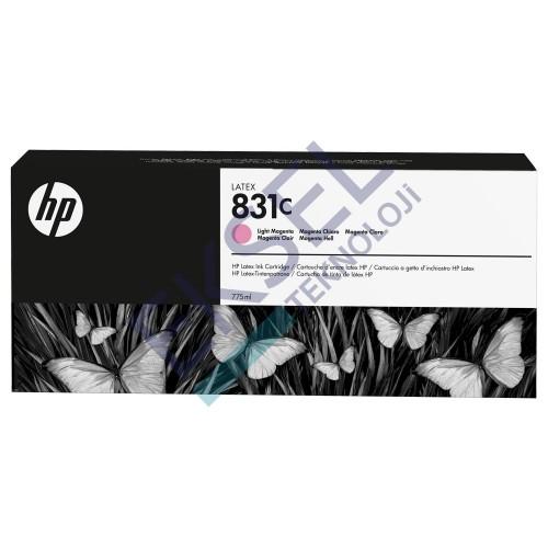 HP 831C 775ml Light Magenta Latex Ink Cartridge