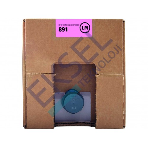 HP 891 10L Lt Mag Latex Ink Cartridge