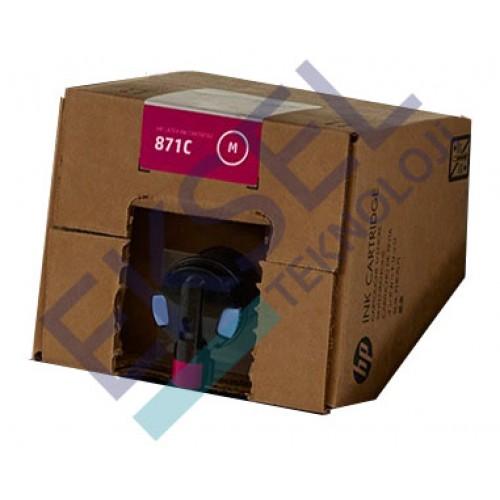 HP 871C 3000-ml Magenta Latex Ink Cartridge